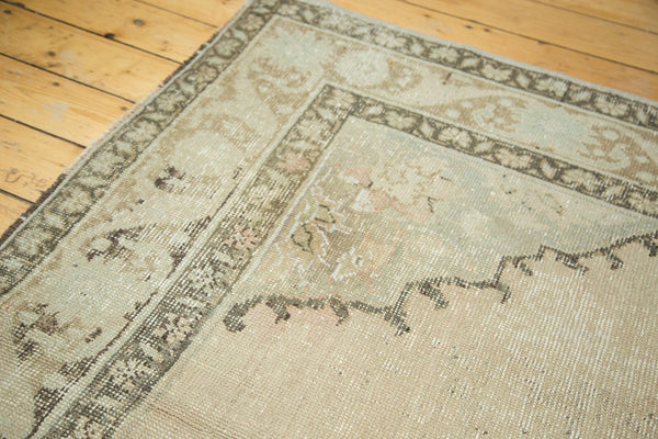 6x10 Vintage Distressed Oushak Carpet - Old New House