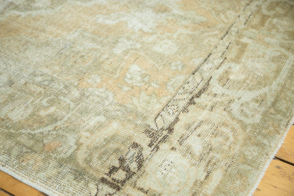 5.5x9.5 Vintage Distressed Oushak Carpet - Old New House