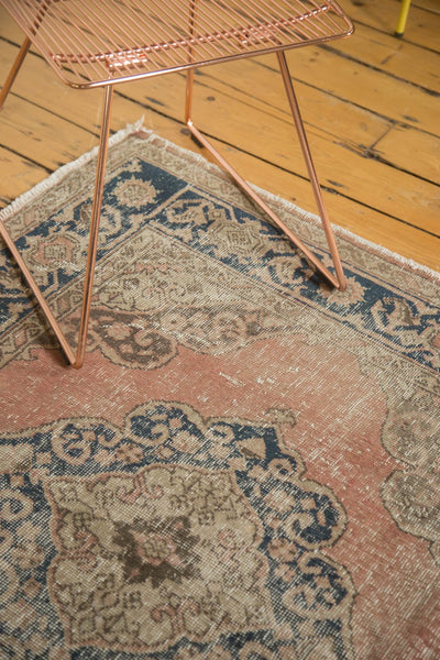Vintage Distressed Oushak Rug Runner / Item ee002945 image 9