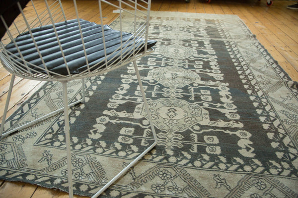 Vintage Distressed Kula Carpet / Item ee002960 image 4