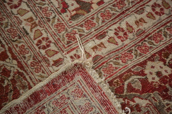 Vintage Distressed Tabriz Carpet / Item ee002972 image 11