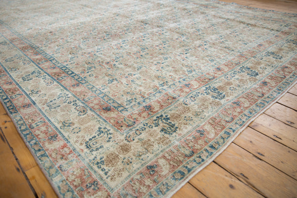 Vintage Distressed Meshed Carpet / Item ee002996 image 3