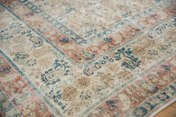 Vintage Distressed Meshed Carpet / Item ee002996 image 4