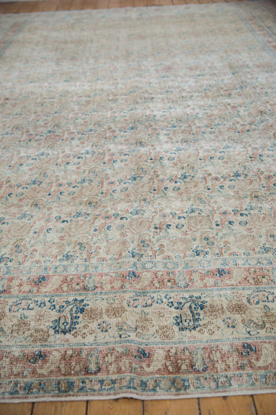 Vintage Distressed Meshed Carpet / Item ee002996 image 5