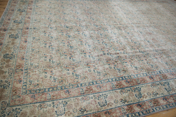 Vintage Distressed Meshed Carpet / Item ee002996 image 6