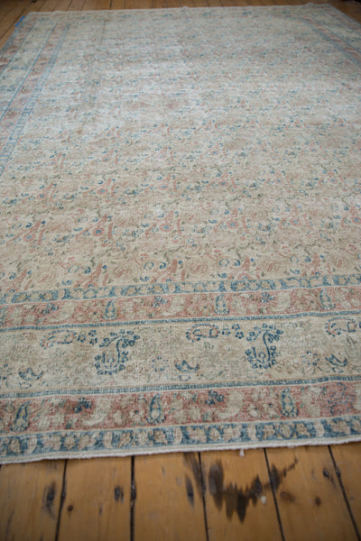 Vintage Distressed Meshed Carpet / Item ee002996 image 7