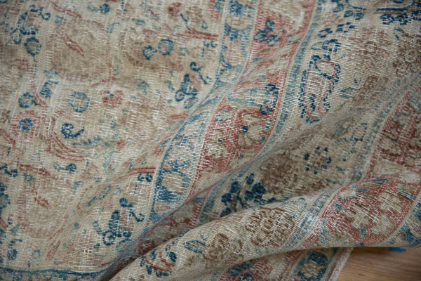 Vintage Distressed Meshed Carpet / Item ee002996 image 11