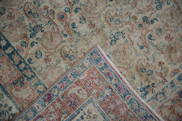 Vintage Distressed Meshed Carpet / Item ee002996 image 12