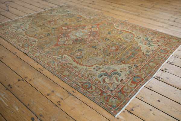 Vintage Distressed Armenian Rug