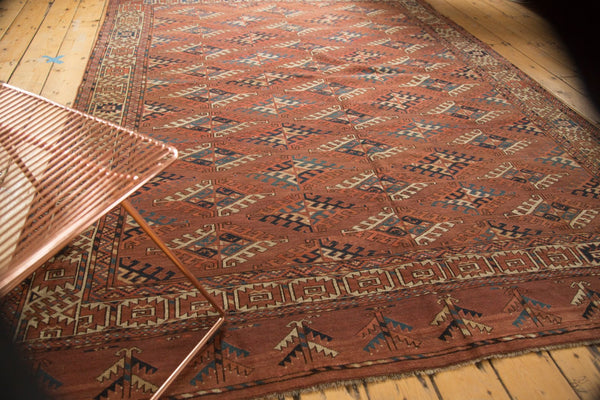 Antique Turkmen Carpet / Item ee003022 image 3