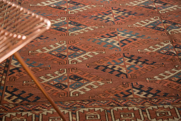 Antique Turkmen Carpet / Item ee003022 image 4