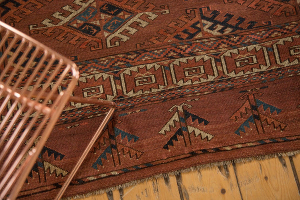 Antique Turkmen Carpet / Item ee003022 image 5