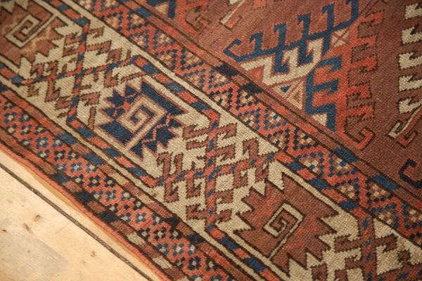 Antique Turkmen Carpet / Item ee003022 image 7