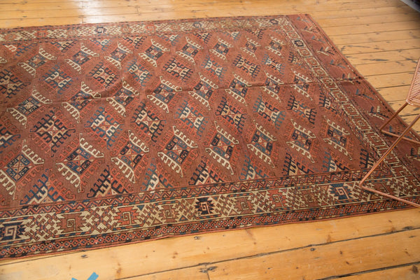 Antique Turkmen Carpet / Item ee003022 image 8