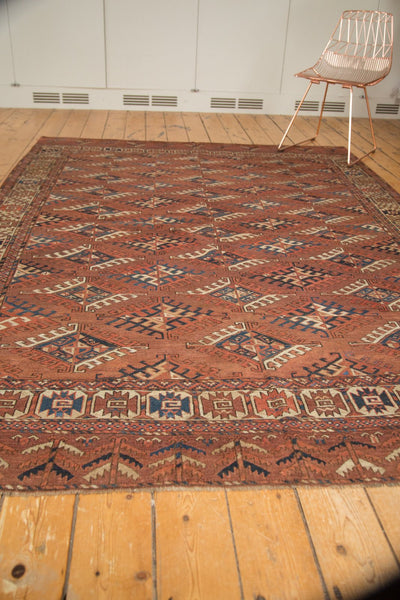 Antique Turkmen Carpet / Item ee003022 image 10