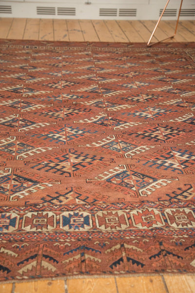 Antique Turkmen Carpet / Item ee003022 image 11