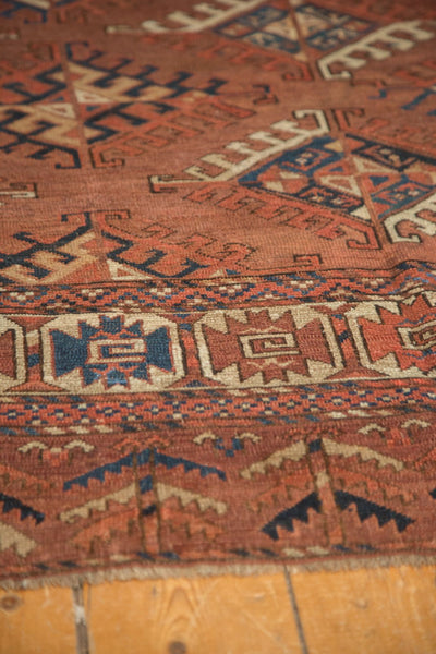 Antique Turkmen Carpet / Item ee003022 image 12