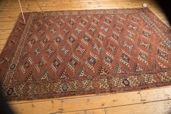 Antique Turkmen Carpet / Item ee003022 image 15