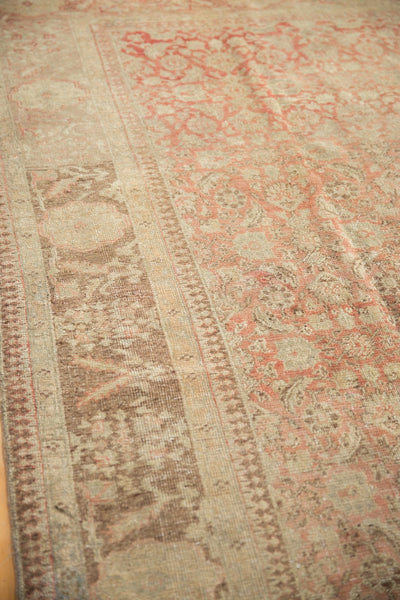 Vintage Distressed Anatolian Carpet