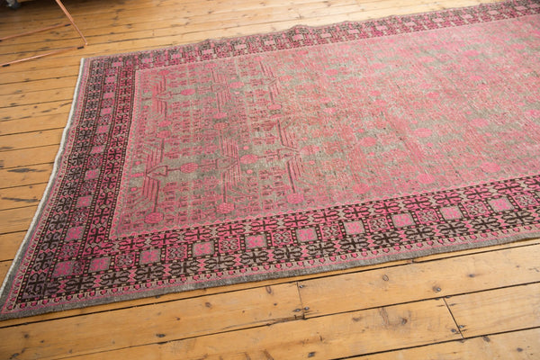 Vintage Distressed Khotan Rug Runner / Item ee003084 image 2