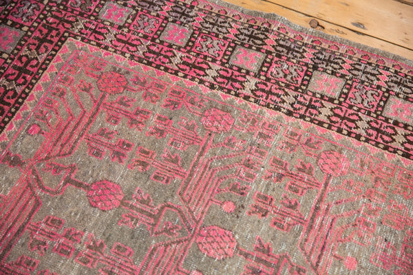 Vintage Distressed Khotan Rug Runner / Item ee003084 image 4