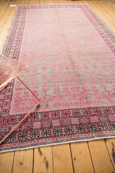 Vintage Distressed Khotan Rug Runner / Item ee003084 image 5