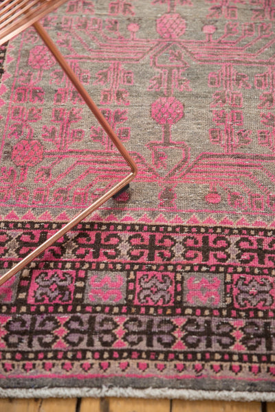 Vintage Distressed Khotan Rug Runner / Item ee003084 image 6