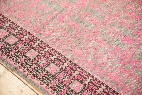 Vintage Distressed Khotan Rug Runner / Item ee003084 image 8