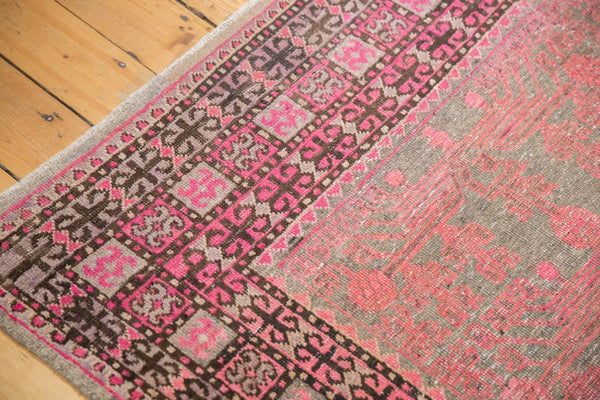 Vintage Distressed Khotan Rug Runner / Item ee003084 image 9