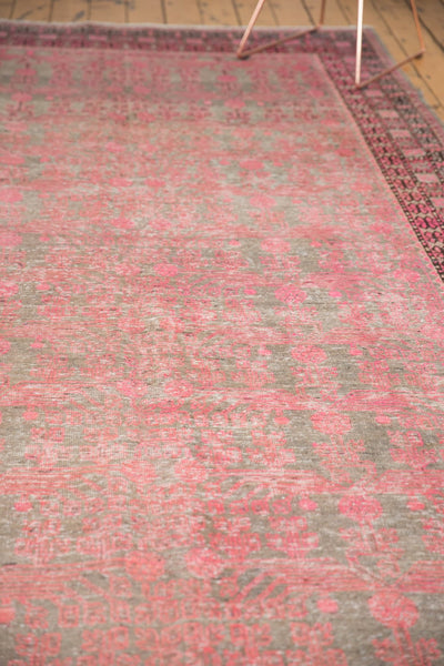 Vintage Distressed Khotan Rug Runner / Item ee003084 image 12