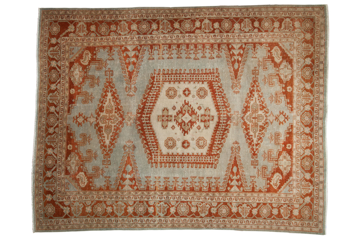 7.5x9.5 Vintage Distressed Veece Carpet // ONH Item ee003090