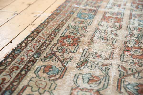 Antique Distressed Fragment Lilihan Rug Runner