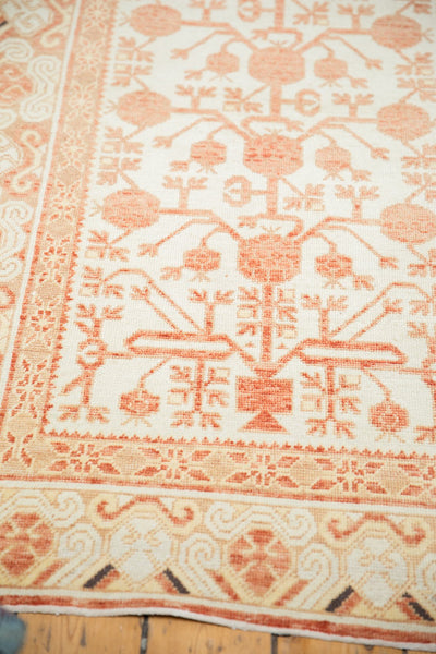 Vintage Distressed Khotan Rug Runner