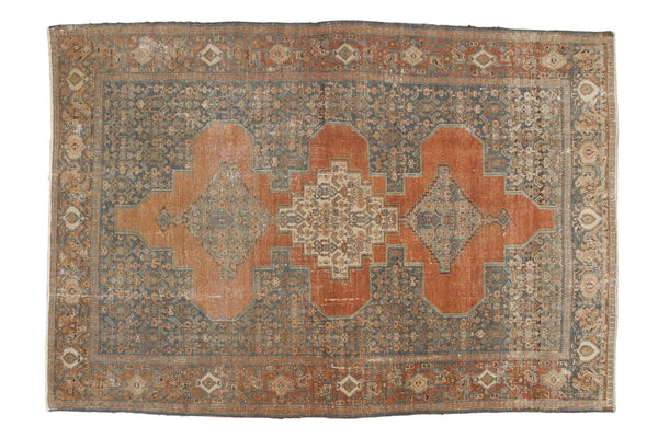 Vintage Distressed Senneh Rug