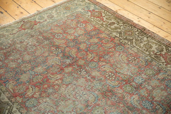 Vintage Distressed Fragmented Hamadan Rug Runner / Item ee003145 image 3
