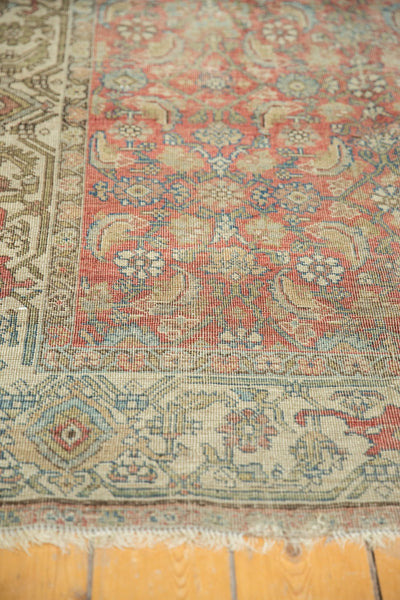 Vintage Distressed Fragmented Hamadan Rug Runner / Item ee003145 image 6