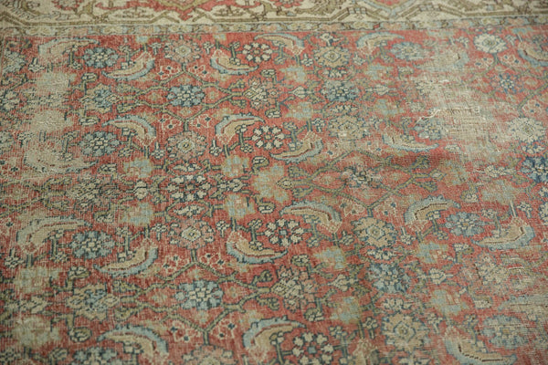Vintage Distressed Fragmented Hamadan Rug Runner / Item ee003145 image 9