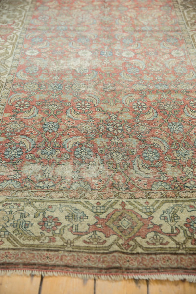 Vintage Distressed Fragmented Hamadan Rug Runner / Item ee003145 image 10