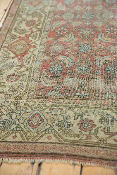 Vintage Distressed Fragmented Hamadan Rug Runner / Item ee003145 image 11