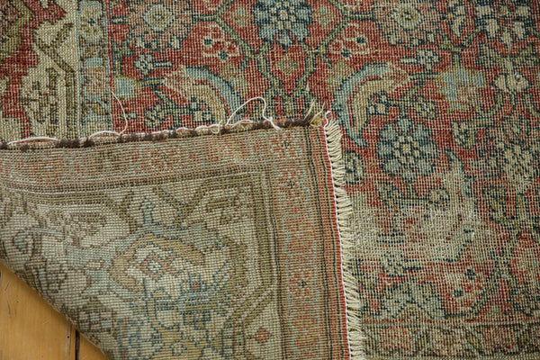 Vintage Distressed Fragmented Hamadan Rug Runner / Item ee003145 image 13