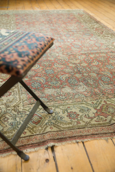 Vintage Distressed Fragmented Hamadan Rug Runner / Item ee003145 image 15