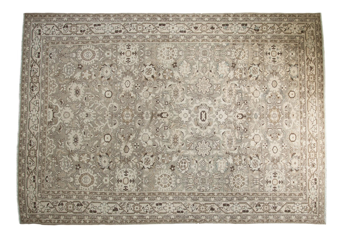 7.5x11 Vintage Distressed Malayer Carpet // ONH Item ee003154