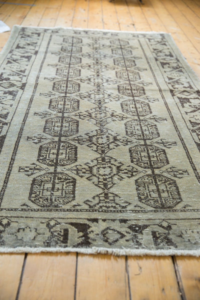 Vintage Distressed Oushak Rug Runner / Item ee003212 image 3