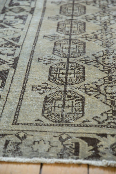 Vintage Distressed Oushak Rug Runner / Item ee003212 image 4