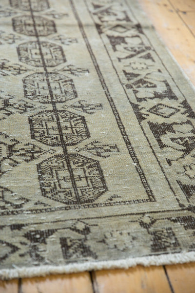 Vintage Distressed Oushak Rug Runner / Item ee003212 image 5