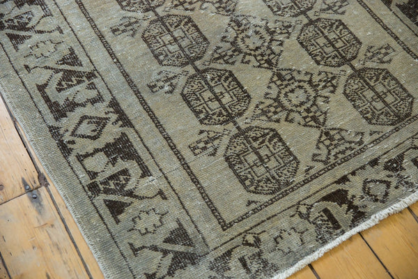Vintage Distressed Oushak Rug Runner / Item ee003212 image 6