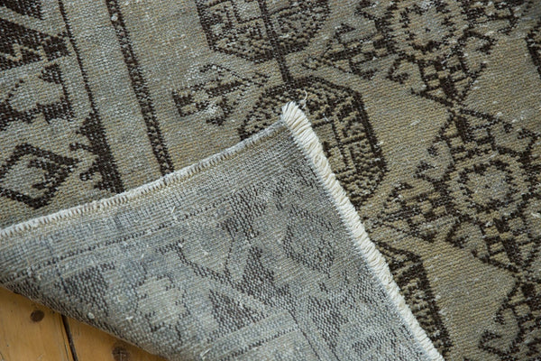 Vintage Distressed Oushak Rug Runner / Item ee003212 image 7