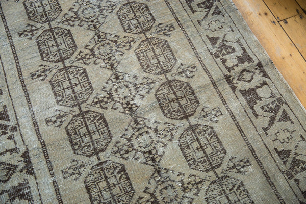 Vintage Distressed Oushak Rug Runner / Item ee003212 image 8