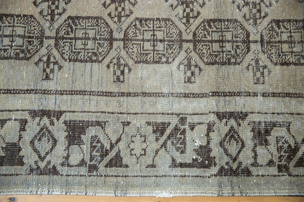 Vintage Distressed Oushak Rug Runner / Item ee003212 image 9