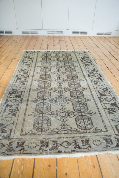 Vintage Distressed Oushak Rug Runner / Item ee003212 image 10